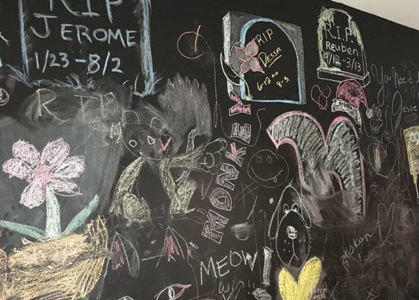 Momentum bullpen chalkboard